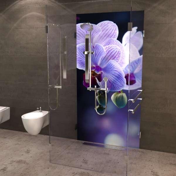 Duschrückwand Orchidee 03
