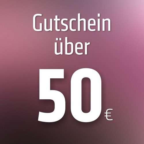 Gutschein über 50 €