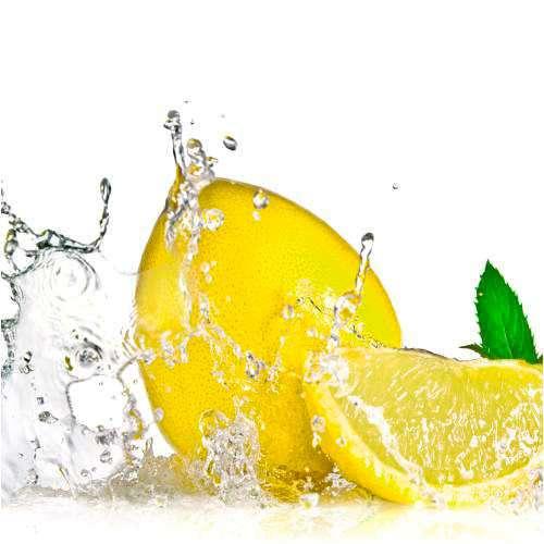 Küchenrückwand Zitronensplash 02