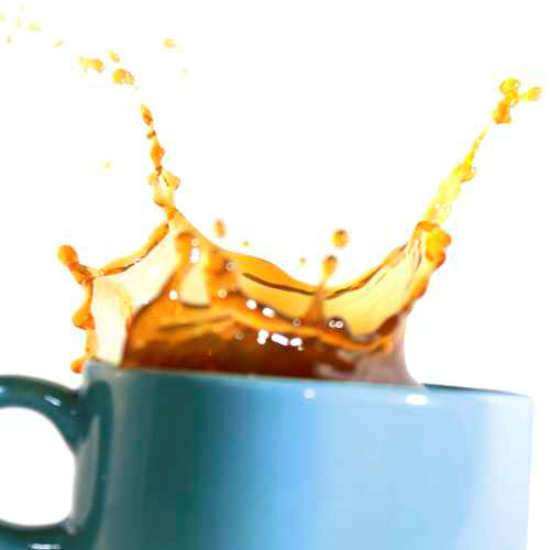 Küchenrückwand Kaffeetassen