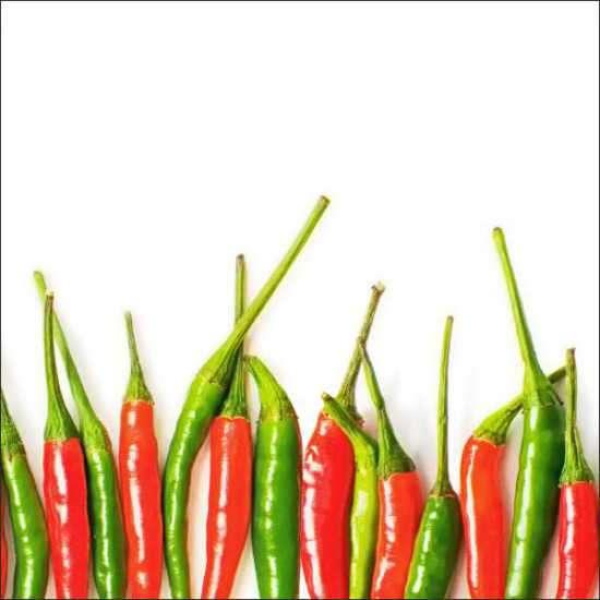 Küchenrückwand Chili Peppers