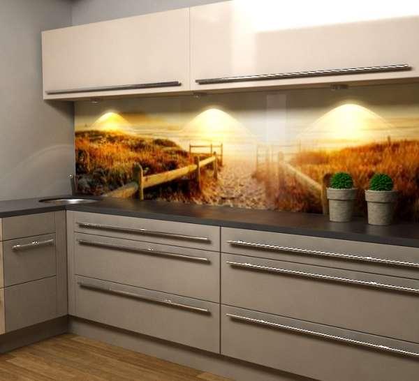 Küchenrückwand Dünen