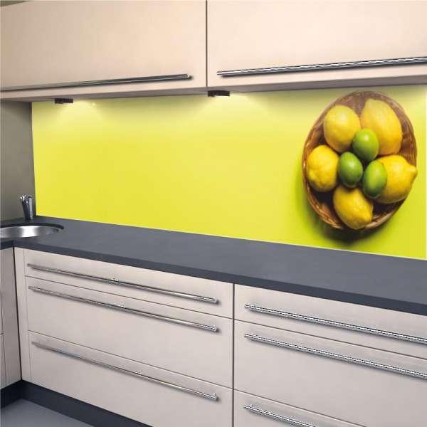 Küchenrückwand Zitrusfrüchte