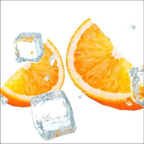 Küchenrückwand Orangenspalten