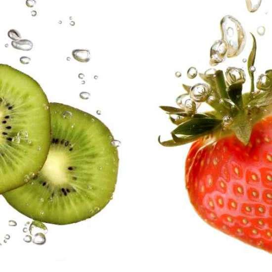 Küchenrückwand Früchtemix
