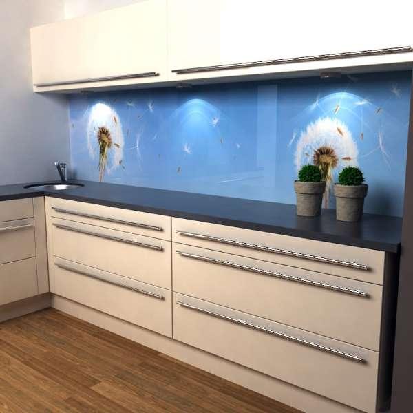 Küchenrückwand Pusteblume in küche