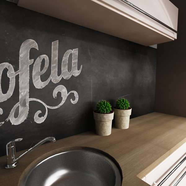 Küchenrückwand Premium Tafel