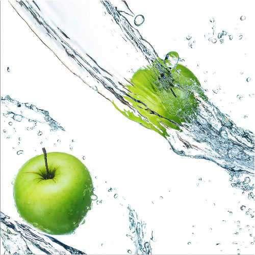 Küchenrückwand Apfelsplash 1