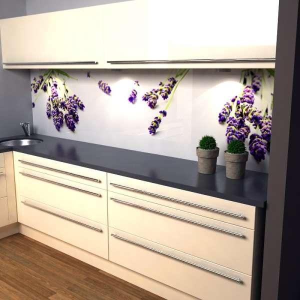 Küchenrückwand Lavendel 02 in küche