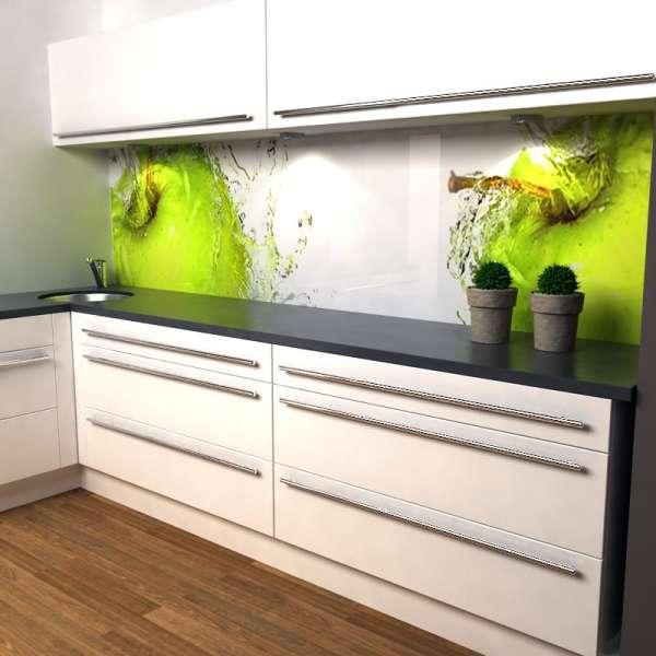 Küchenrückwand Apfel in Küche