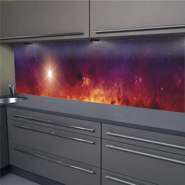 Küchenrückwand Polarstern