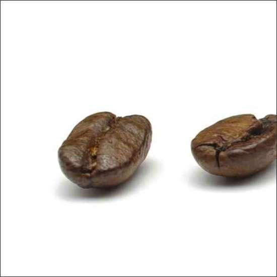Küchenrückwand einzelne Kaffeebohnen