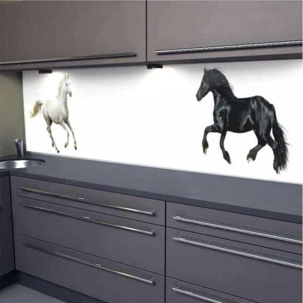 Küchenrückwand Pferde 01