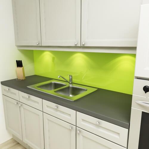 k chenr ckwand uni lindgr n. Black Bedroom Furniture Sets. Home Design Ideas
