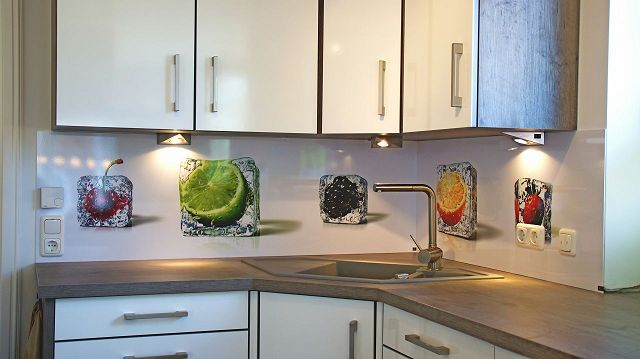 "\""Küchenrückwand"